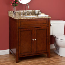 "30"" Darin Vanity Cabinet with Undermount Basin 