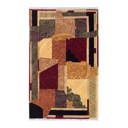 """Noble House - Noble Multi Rug - Nepali weave, manufactured with lustrous New Zealand semi worsted wool, this collection comprises of various modern and transitional designs in trendy colors. Most of the designs are simple but elegant and cleverly textured. Features: -Shape: Rectangle. -For indoor use. -Country of Origin: India. -Themes: Geometric & Abstract. -Contemporary modern indo Nepal style. -Construction: Handmade. -Technique: Woven. -Material: New Zealand wool. -Collection: Noble. -Pile height: 0.08"""".  Recommended Care: -Depending on amount of traffic on rugs, professional cleaning or washing is required every 1 to 2 years. -Do not expose rugs in direct sun light for longer time as it could result in faded colors of rugs. -Rugs should be vacuumed on regular basis to remove dust and dirt which would restore life to the fibers. Do not vacuum the fringes. Do not Vacuum Shaggy rugs as it will damage the rug. To clean the Shaggy rug, flip it over and shake well by hand. -To avoid spills setting deep and becoming stubborn, it is recommended to act immediately. When spills occur on rugs, put some water in the affected area to dilute, blot with clean white cloth or paper towel. Remove the moisture as much as possible by blotting with absorbent cloth or thick paper towel. Do not rub spills as could result in setting spills deeper in the affected area.  Specifications: -Overall Dimensions: 72-168"""" H x 48-120"""" W x 0.08"""" D, 25 lbs."""