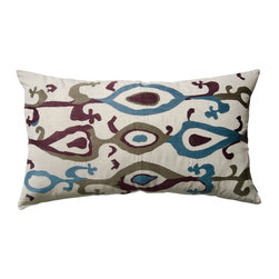 Koko Company - Koko Company 27 in. Ankara Oblong Pillow Multicolor - 91903 - Shop for Pillows from Hayneedle.com! About The Koko CompanyFor over 10 years The Koko Company has been pouring heart and soul into bringing you a vibrant diverse collection of pieces to suit your unique style. From pillows and bedding to rugs and throws every piece is both versatile and distinctive each playing its own part in a grander global vision. Located in Long Island City NY but influenced and inspired by an array of cultures and fashions The Koko Company strives to bring the subtle elegance of natural fibers and organic design to your home accents.