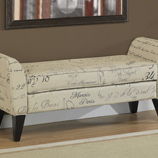 Contemporary Benches by Overstock.com
