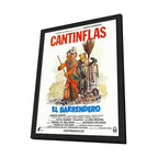 Barrendero, El 11 x 17 Movie Poster - Mexican Style A - in Deluxe Wood Frame - Barrendero, El 11 x 17 Movie Poster - Mexican Style A - in Deluxe Wood Frame.  Amazing movie poster, comes ready to hang, 11 x 17 inches poster size, and 13 x 19 inches in total size framed. Cast: Eduardo Alcaraz