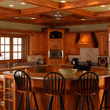 Traditional Kitchen Cabinets by WalzCraft