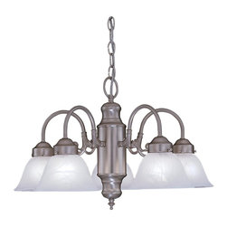 Designers Fountain - 5 Light ChandelierBistro Collection - A timeless look with a fresh modern flair, the Bistro collection offers a functional accent to any space.