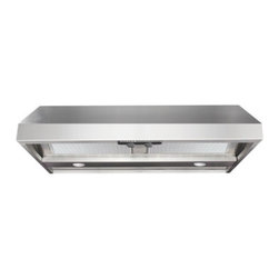 "Air King - Advantage AP1036 36"" Wall Mounted/Under Cabinet Range Hood with 300-600 CFM  Sin - The centerpiece to every kitchen starts with a Professional Range Hood The Air King Advantage Series Wall Mounted Ventilation Hood with Warming Lights 10-Inch Tall by 36-Inch Wide - Stainless Steel AP1036W is the ideal system when adding elegance and..."