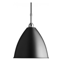 "BestLite - BestLite BL9M pendant light - The BL9M pendant light by Bestlite has been designed by Robert Best. This smashing fixture is available in three finish options to go with the chromed out body. The vibrant, gloss design adds a modern touch to this already significant style of the light.   Product Details:    The BL9M pendant light by Bestlite has been designed by Robert Best. This smashing fixture is available in three finish options to go with the chromed out body. The vibrant, gloss design adds a modern touch to this already significant style of the light. Details:                         Manufacturer:                        BESTLITE                                                 Designer:                        Robert Best                                         Made in:                        Denmark                                         Dimensions:                        Diameter Shade: 8.3"" (21 cm) X Length of cord: 98.4"" (250 cm)                                         Light bulb::                        1 x 40W Incandescent                                         Material:                        stainless steel, aluminum"