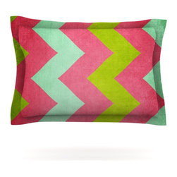 """Kess InHouse - Catherine McDonald """"Cocktails With Lilly"""" Pillow Sham (Cotton, 30"""" x 20"""") - Pairing your already chic duvet cover with playful pillow shams is the perfect way to tie your bedroom together. There are endless possibilities to feed your artistic palette with these imaginative pillow shams. It will looks so elegant you won't want ruin the masterpiece you have created when you go to bed. Not only are these pillow shams nice to look at they are also made from a high quality cotton blend. They are so soft that they will elevate your sleep up to level that is beyond Cloud 9. We always print our goods with the highest quality printing process in order to maintain the integrity of the art that you are adeptly displaying. This means that you won't have to worry about your art fading or your sham loosing it's freshness."""