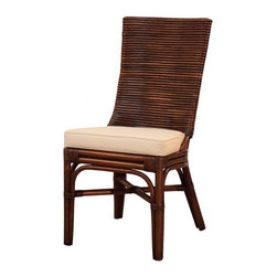 NPD (New Pacific Direct) Furniture - Kona Dining Chair (Set of 2) by NPD Furniture, Beige - Kona rattan dining chairs (Set of 2) a perfect set to bring together any space in your home. They compliment almost any decor and even double as extra seating. These chairs will satisfy for years to come by offering comfort, style, and durability. This stylish chairs will add elegance to your dining space or kitchen.