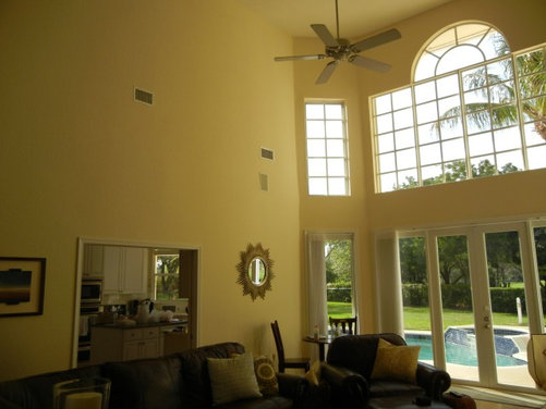 Houzz ceiling designs home design ideas for Tall ceiling decor