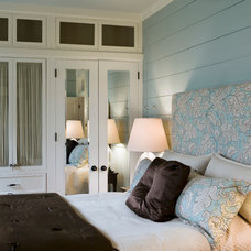 Beach Style Bedroom by Our Town Plans