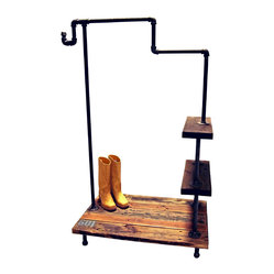 Ethel Industrial Pipe Garment Rack