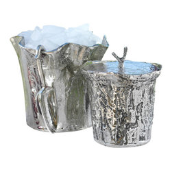 Zodax - Aluminum Ice Bucket with Scoop by Zodax - Aluminum Ice Bucket with Scoop by Zodax