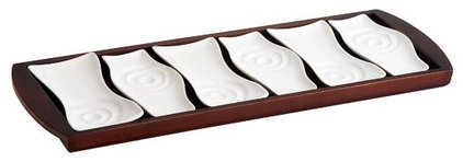 Contemporary Platters by QVC, Inc.