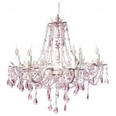 mediterranean chandeliers by The Bella Cottage