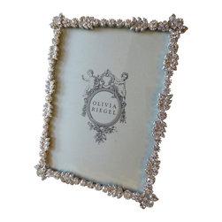 "Olivia Riegel - Olivia Riegel Duchess Swarovski Crystal Photo Frame 5"" x 7"" - Olivia Riegel Duchess Swarovski Crystal Photo Frame 5"" x 7"""