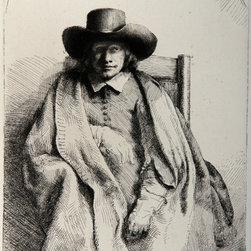 Rembrandt van Rijn, Portrait de Clement de Jonge (B272), Heliogravure - Artist:  Rembrandt van Rijn, After by Amand Durand, Dutch (1606 - 1669)