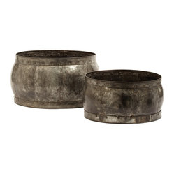 Fortress Barrel Bowls, Set of 2