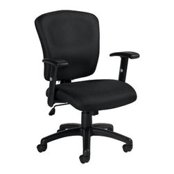 Offices To Go - Offices To Go Tilter Chair with Arms - Offices To Go - Office Chairs - OTG11850B - Offices To Go is proud to offer exceptional comfort and style while maintaining a value conscious approach to seating. Many Offices To Go chairs have scuff resistant arched molded bases with matching casters, impact resistant outer back shells, adjustable height arms and headrests. All Offices To Go seating models come with easy-to-follow assembly instructions with detailed photographs making product assembly quick and simple. Enjoy your new Offices To Go seating!