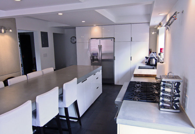 Kitchen Countertops by Concrete Shop