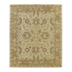 Kaleen - Kaleen Solomon Collection 4053-05 8' X 10' Gold - Painstaking attention to detail and old world craftsmanship is the definition of Solomon.  These beautiful hand tufted rugs are produced from only the finest 100% premium virgin wool and are available in a selection of timeless designs. The collection offers an array of sophisticated colorations to meet all your decorating needs. Hand crafted in India.