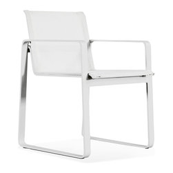 """Harbour Outdoor - Harbour Outdoor Clovelly Dining Chair - 100% maintenance free. Indoor style meets outdoor durability as """"Clovelly"""" seamlessly blurs the lines between a fashion that was once impossible in outdoor furniture."""