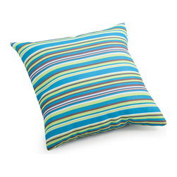 ZUO VIVA - Puppy Small Pillow Multicolor stripe - Puppy Small Pillow Multicolor stripe