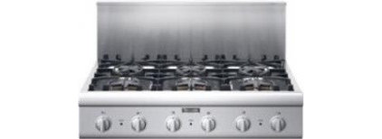 36 in Cooktop with 6 Star Burners - PCG366E : Remodelista