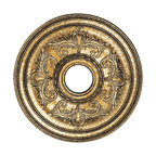 Livex Lighting - 22 Inch Ceiling Medallion - The Livex 22 Inch Ceiling Medallion is available with a Palatial Bronze, Verona Bronze, Vintage Gold Leaf, Imperial Bronze, Venetian Patina, or White finish. 22.5 inch width x 1.5 inch height.