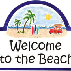 Beach Woodie Address Plaques - To find out more and how to order click here: