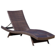 Contemporary Outdoor Chaise Lounges by Great Deal Furniture