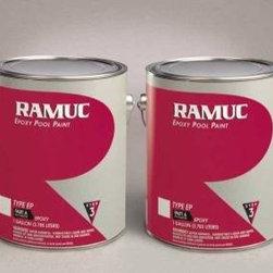 RAMUC Pool Paint - Type EP Epoxy Swimming Pool Paint - Dark Blue (1 Gallon) - Type EP Epoxy Swimming Pool Paint - Dark Blue 1 gallon