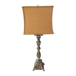 Yosemite Home Decor - Table Lamp: Portable Lamp Series 28.5 in. Beige Table Lamp PTL921 - Shop for Lighting & Fans at The Home Depot. The all new designs from Yosemite Home Decor Portable Lighting Series offer you the sleekest and dazing table and floor lamps. With a variety of elegant and soothing shade colors to uniquely designed bases, these single bulb lamps will surely fit in either an office, hallway, living room, or bedroom of your choice.