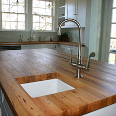 Farmhouse Kitchen Islands And Kitchen Carts by DeVos Custom Woodworking