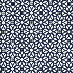 Sunbrella 45690-0000 Luxe Furniture Fabric, Indigo - This Sunbrella fabric will bring high design to your deck chairs. The indigo blue (rather than black) is more unexpected and luxe looking.