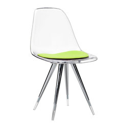 Kubikoff - Angel Side Chair, Lime, Lime - Angel Side Chair
