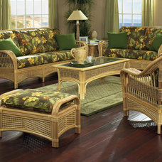 tropical sofas by Wicker Paradise