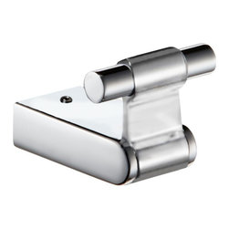 Hispania Bath - Iris Small Towel Robe Hook. Polished Chrome - Iris Collection.