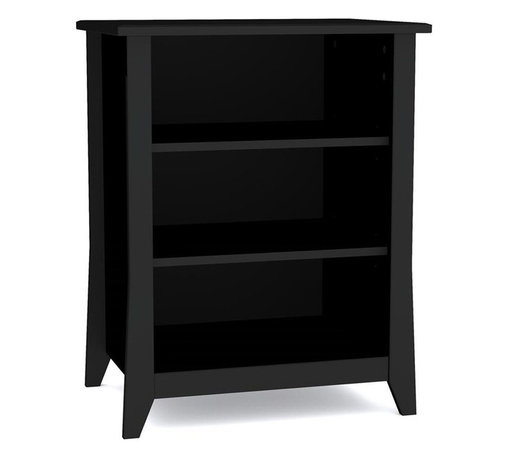 Nexera - Nexera Tuxedo Audio Tower - Tuxedo Audio Tower from Nexera adds convenient storage for your electronic devices and DVDs and fits perfectly with Tuxedo 58-inches TV Stand. The audio tower features 2 adjustable shelves with wire management and can be used on its own or paired with other Tuxedo items for a complete set. Tuxedo Collection from Nexera is offered in a rich black textured lacquer and melamine with refined construction details and decorative metal handles. It proposes a complete collection for your living room, from occasional tables to TV stand and storage.