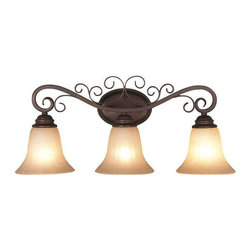 Trans Globe Lighting - Trans Globe Lighting 21043 ROB Bathroom Light In Rubbed Oil Bronze - Part Number: 21043 ROB