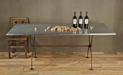 Eclectic Dining Tables by Candelabra