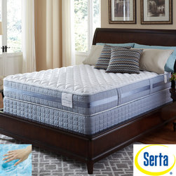 Serta - Serta Perfect Sleeper Resolution Firm Full-size Mattress and Foundation Set - Wake up refreshed with this Perfect Sleeper Firm mattress and foundation from Serta. A Consumer Digest Best Buy for over a decade so you can shop with confidence this mattress will offer the comfort and support you need for a great night's sleep.