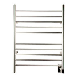 Amba - Amba Radiant Hardwired Straight Collection Towel Warmer - Easy Installation - all mounting hardware is included in the price