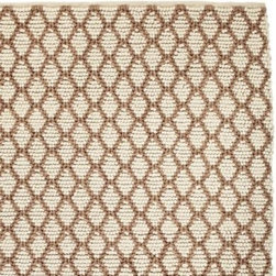 Serena & Lily - Diamond Loop Rug Ivory - Graphic and textural, this super-chunky rug adds so much depth and dimension to the room. It's braided and looped by hand of the softest wool in neutral shades of ivory and bark.