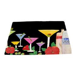 xmarc - Bar Area Rugs, Martini Bar - Martini bar area rugs from my art.