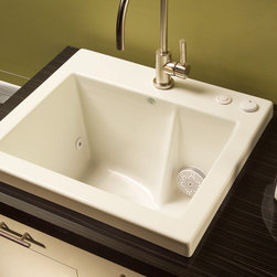 Jentle Jet Laundry Sink - Jentle Jet® Laundry Sink 120J