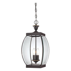 Quoizel Lighting - Quoizel Lighting OAS1909Z Oasis 3 Light Outdoor Pendant - For over seventy years, Quoizel lighting has been dedicated to the design and production of its diversified line of fine lighting products and home accessories.