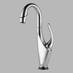 Brizo - Brizo - Vuelo: Single Handle Bar/Prep Faucet  - 64955LF-PC - W/Smarttouch Technology