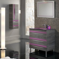 GIOCCO 32 INCH BATHROOM VANITY. - Made in Spain.