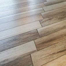 Modern Floor Tiles by Bill Fry Construction - Wm. H. Fry Const. Co.