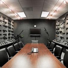 Modern  Gun Rooms