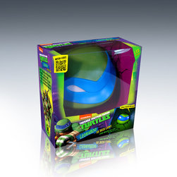 3DlightFX 3D Teenage Mutant Ninja Turtles - Leonardo TMNT - 3D deco lights are perfect for all ages. With a realistic crack sticker that gives the illusion that the light is coming straight through the wall, the lights are attractive on or off, day or night. The 3D deco lights bring a cool factor to having a nightlight at any age.  3DlightFX's line of 3D deco lights include regulation size sports balls and pucks, cars and jets and most recently a range of superhero and action figure inspired products.